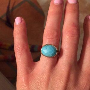 Stella & Dot Turquoise Ring size 5